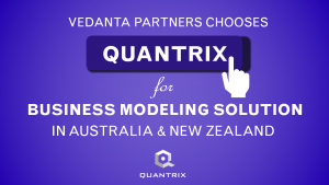 Vedanta Partners Chooses Quantrix for Business Modeling Solution in Australia and New Zealand