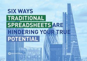 Whitepaper: Six ways traditional spreadsheets are hindering your true potential